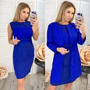 Платье короткое вечернее современное Ц1076