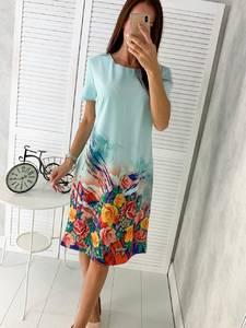 Платье короткое нарядное Ч4332