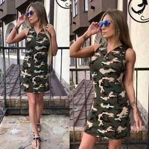 Платье  короткое современное У0959
