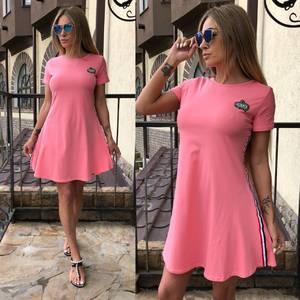 Платье  короткое современное У0961