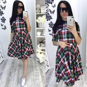 Платье  короткое современное У0953