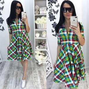 Платье  короткое современное У0954