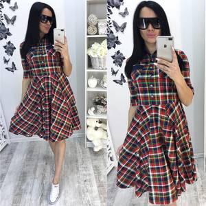 Платье  короткое современное У0955