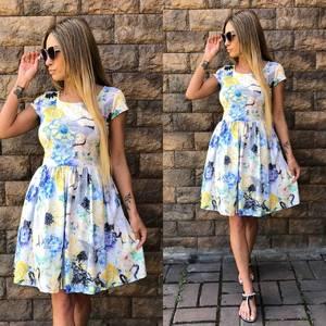 Платье  короткое современное У0956