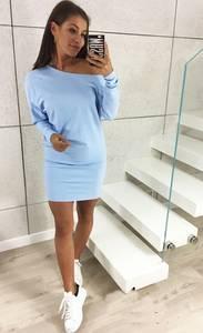 Платье короткое повседневное трикотажное Х0200