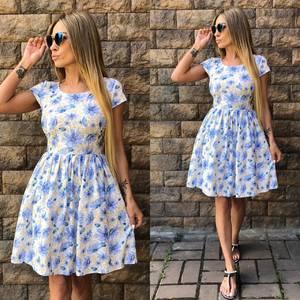 Платье  современное короткое У0958
