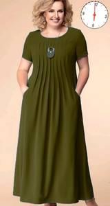 Платье длинное нарядное А46819