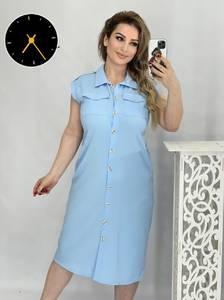 Платье короткое летнее А46837
