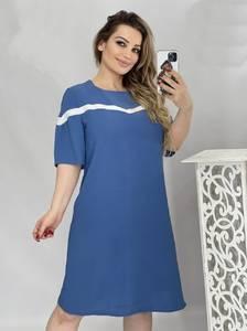 Платье короткое летнее А46811