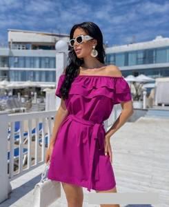 Платье короткое летнее А46957