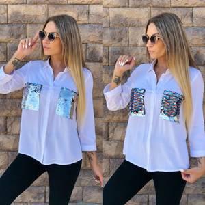 Рубашка с длинным рукавом У7085