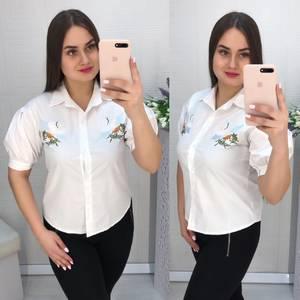 Рубашка белая Ц1539