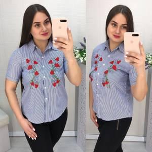 Рубашка в полоску Ц1542