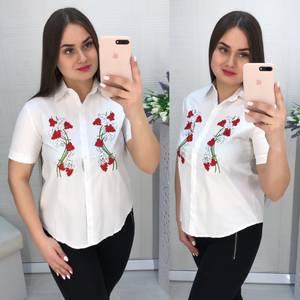 Рубашка белая Ц1541