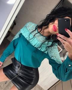 Блуза с длинным рукавом Ц2357
