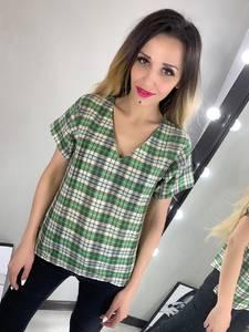 Блуза с коротким рукавом Ц2776