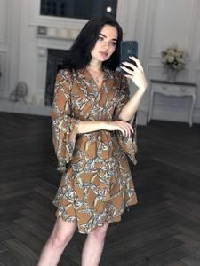 Платье короткое нарядное современное Х8413
