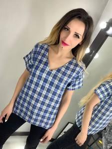 Блуза с коротким рукавом Ц2777