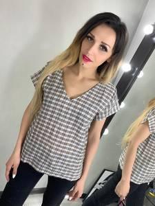 Блуза с коротким рукавом Ц2779