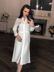 Платье длинное с длинными рукавами нарядное Х8451