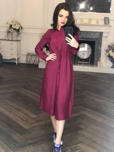Платье длинное с длинными рукавами нарядное Х8452