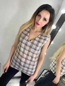 Блуза без рукавов Ц2780