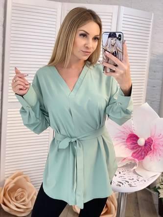 Блуза с длинным рукавом Ц2300