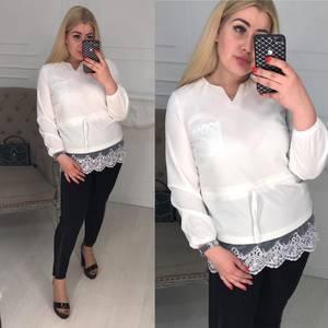 Блуза белая Ц1393