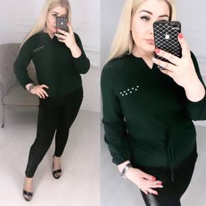 Блуза с длинным рукавом Ц1396