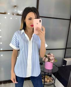 Блуза с коротким рукавом Ч4520