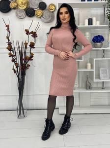 Платье короткое с длинным рукавом А57031