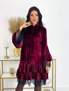 Платье короткое нарядное А20565