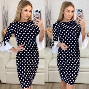 Платье короткое облегающее Ч0432