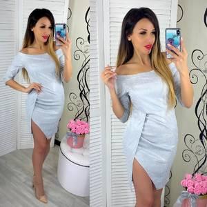 Платье короткое вечернее нарядное облегающее Ш9304