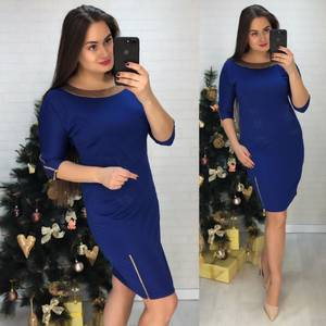 Платье короткое нарядное Х0231