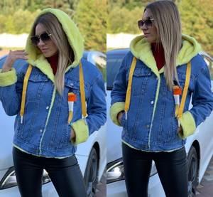 Джинсовая куртка А11163