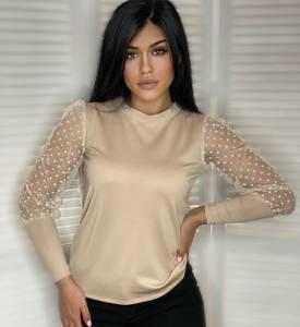 Блуза с длинным рукавом А19138