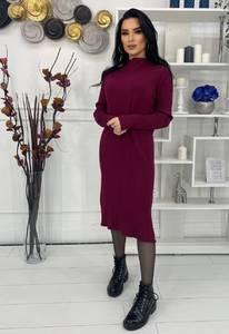 Платье короткое с длинным рукавом А57039