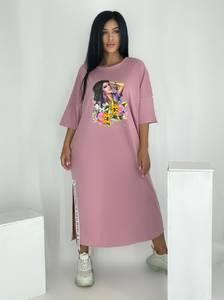 Платье длинное летнее А49863