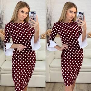 Платье короткое облегающее Ч0434