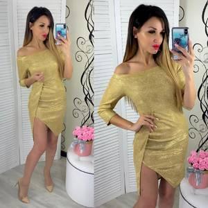 Платье вечернее нарядное облегающее короткое Ш9305
