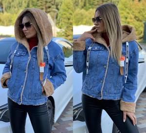 Джинсовая куртка А11164