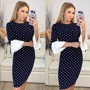 Платье короткое облегающее Ч0433