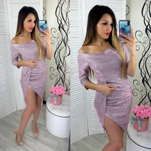Платье вечернее нарядное облегающее короткое Ш9306