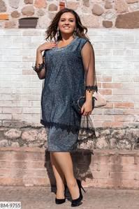 Платье короткое нарядное Ю2833