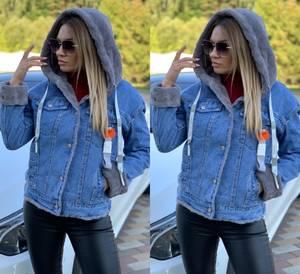 Джинсовая куртка А11165