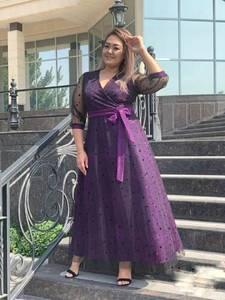 Платье длинное нарядное А14387