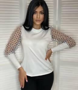 Блуза с длинным рукавом А19140
