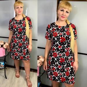 Платье короткое летнее Ц3823