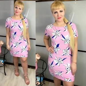 Платье короткое летнее Ц3824
